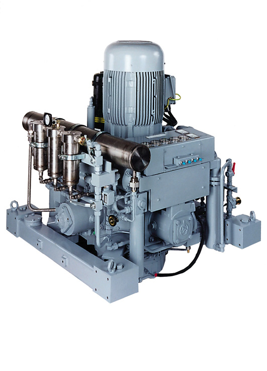 High Pressure Gas Compressor : Wp e larry